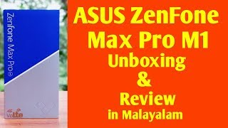 Asus zenfone max pro m1 unboxing and review in malayalam | eldhose tech