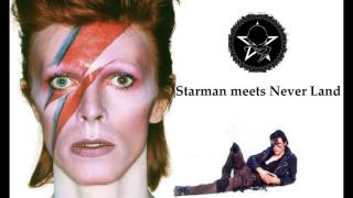 David Bowie Vs. The Sisters of Mercy - Starman meets Never Land (2016)