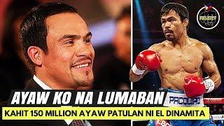Rason bakit AYAW na ni Marquez   $150 Million sana ang offer para LABANAN ulit si Pacman