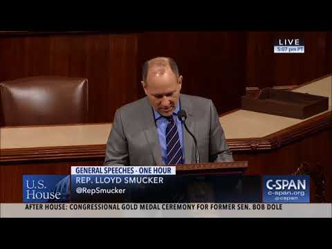 Rep. Lloyd Smucker (R-PA) on 45th Anniversary of Roe v Wade