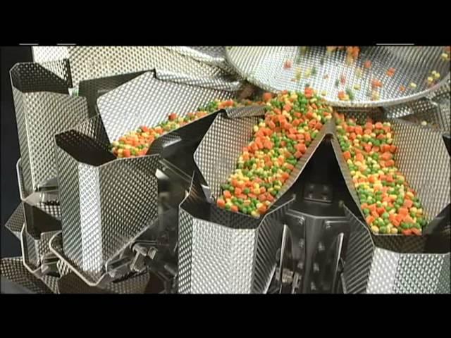 Mehrkopfwaage OMEGA, Tiefkühlanwendung, Mix Vegetables, Yamato Scale