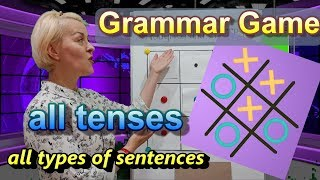 Grammar Game For Teaching Tenses: Noughts And Crosses