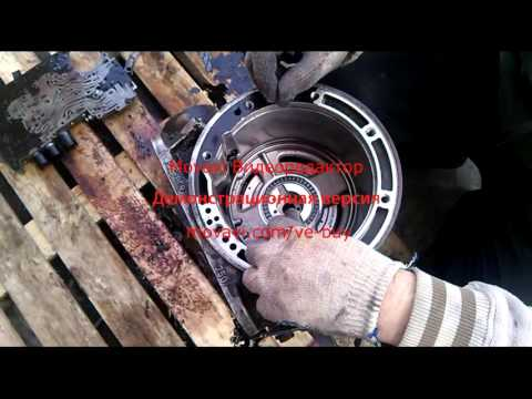 Фото к видео: Видео отчет о разборе 4r44e