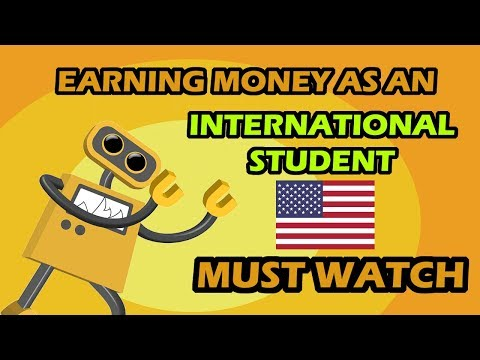 Earn $800 to $2500 PER MONTH as an International Student in the USA | Making money while on F1 Visa