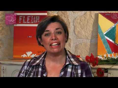 Home d co coquelicots femme2decotv youtube - Home deco peinture ...