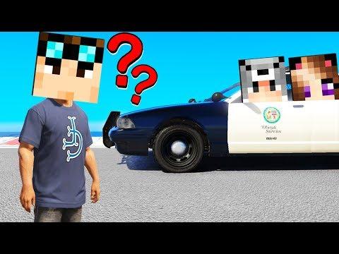NASCONDINO NELL'AUTO DELLA POLIZIA SU GTA5!!!