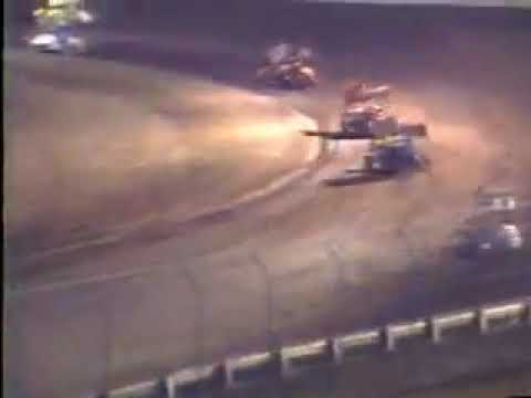 Rick Martin - (1988) - First A-Main Win - San Jose Speedway - Mike Sargent Chassis