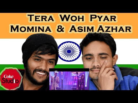 Indian react on Tera Woh Pyar| Coke Studio |momina musteshan |azim azhar| Swaggy D