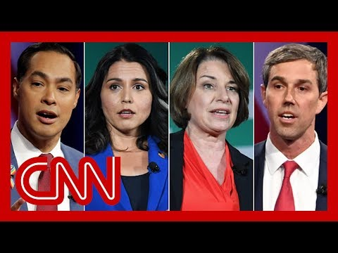 CNN: See what Democratic candidates said about impeaching Trump