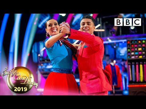 Karim and Amy Quickstep to 'Mr. Pinstripe Suit' - Week 7 | BBC Strictly 2019