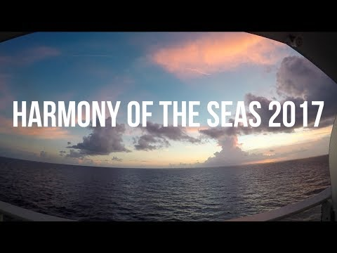 CRUISE DIARIES: PART I | HARMONY OF THE SEAS