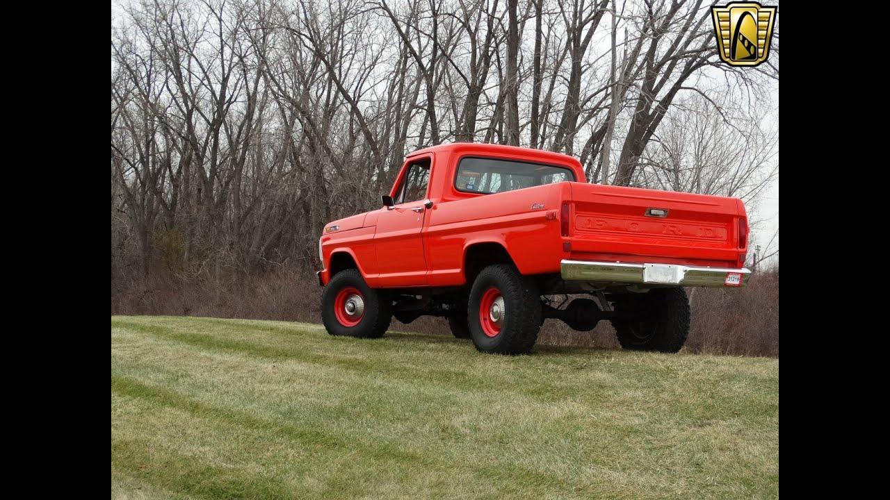 1969 Ford F100 Youtube Ranger