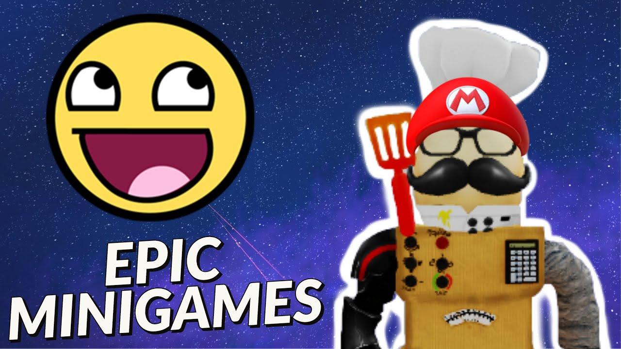Super Mini Games Roblox Super Roblox Galaxy But It S Actually Just Epic Minigames Roblox Epic Minigames Youtube