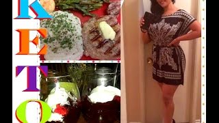 How I Started Keto | Tips | Full Day Of Eating | Week 8 | Risa XoXo
