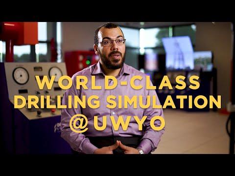 UW's World-class Drilling Simulator