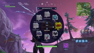 Fortnite Rocket Start and explosion