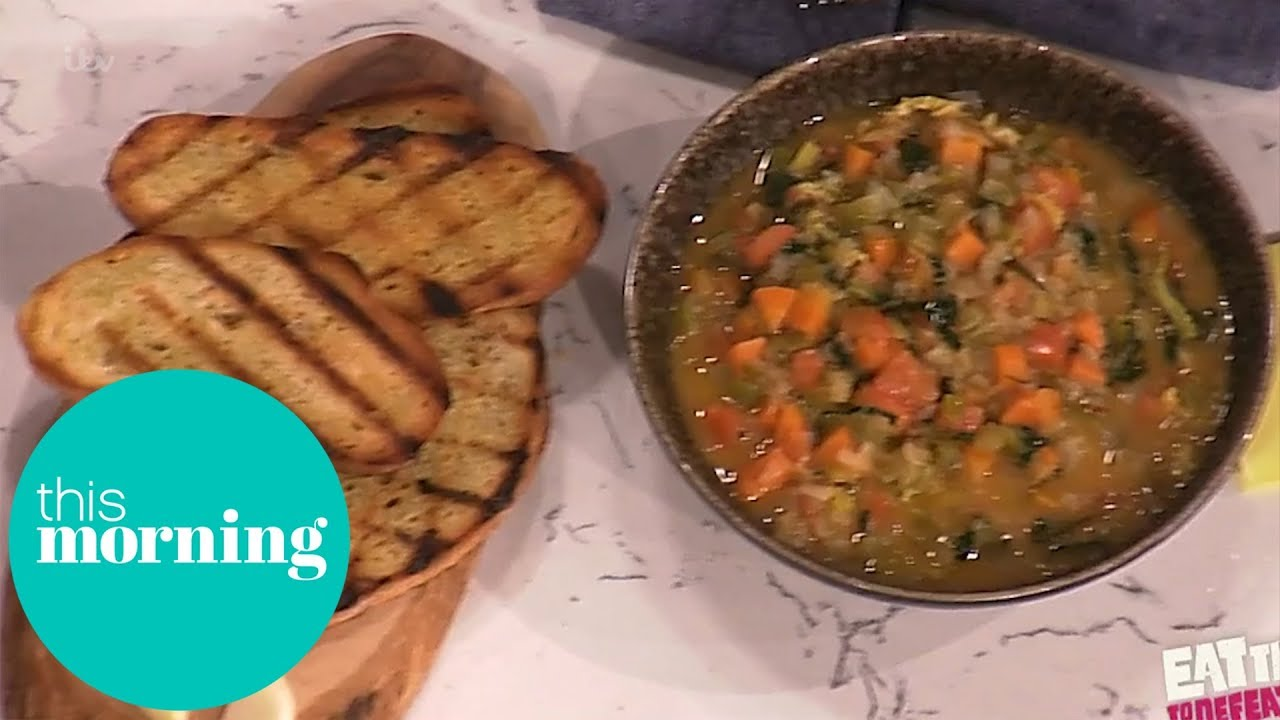 Phil Vickery's Tasty Tuscan Bean Soup | This Morning - YouTube