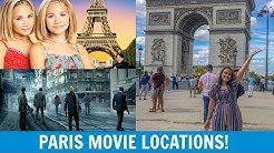 Visiting Famous Movie Locations In Paris!