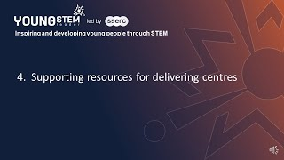 Supporting Resources for Delivering Centres