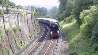 (HD)Steam Trains in the West Country 2011