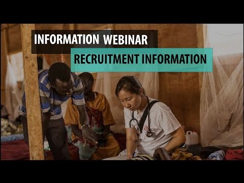 Live Webinar: Recruitment Information