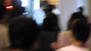 成瀨心美,藤北彩香和波多野結衣離開會場(台灣成人博覽會)
