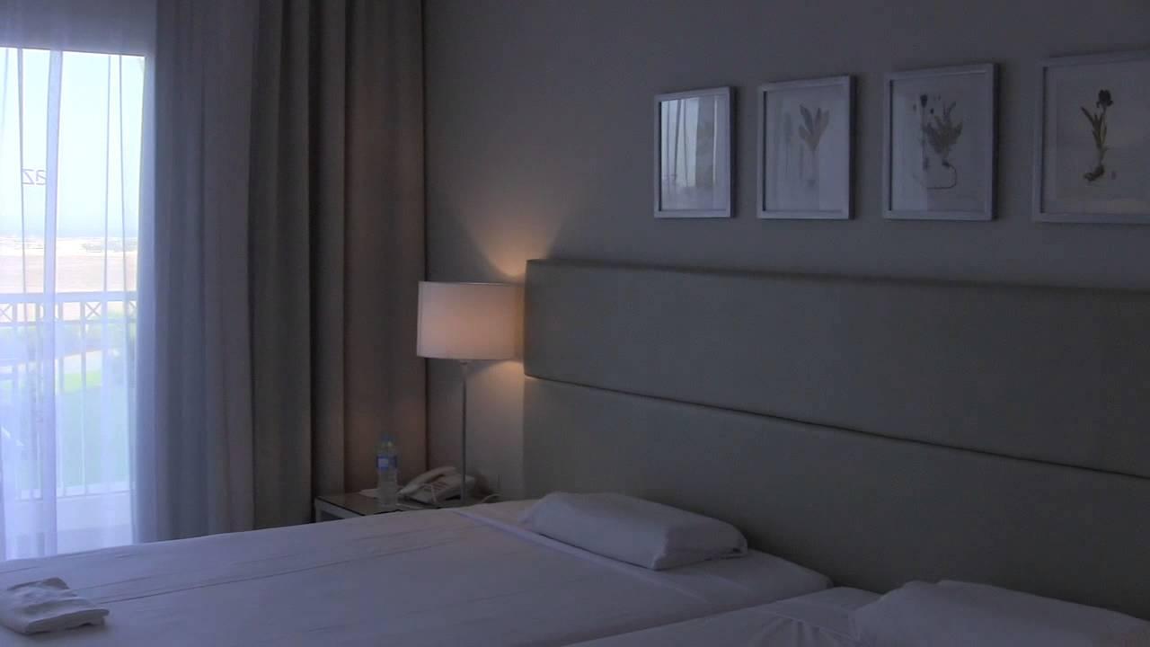 Hotel Jaz Aquaviva sehr sauberes, gepflegtes Familienzimmer - YouTube