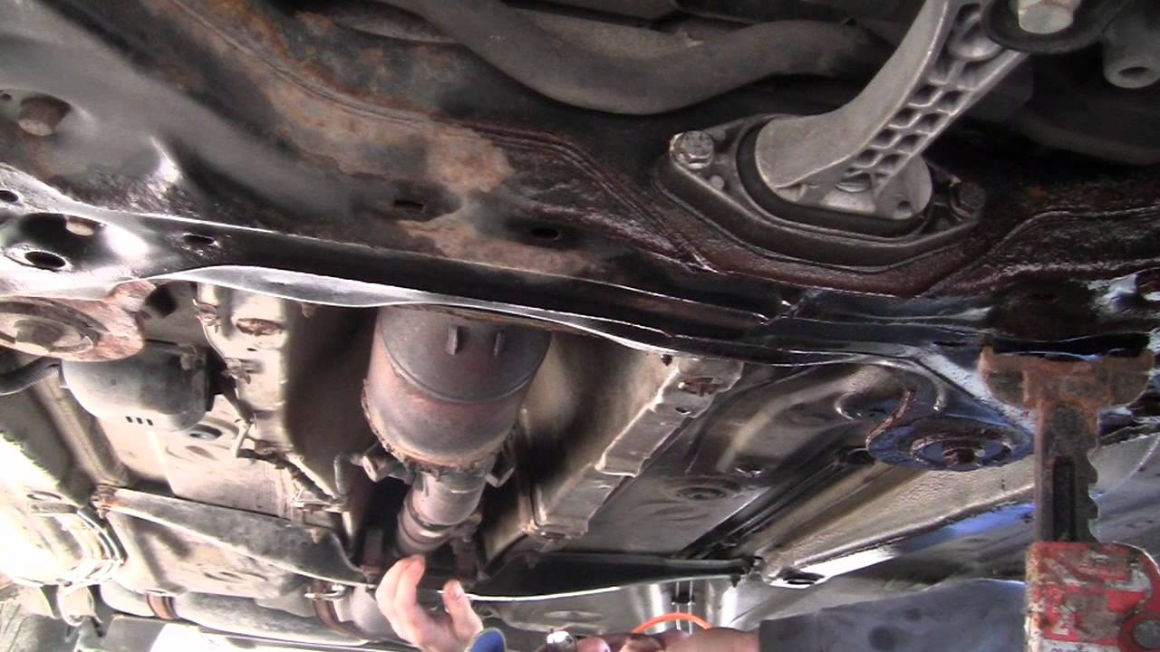 Catalytic converter replacet.mp4 - YouTube