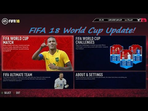 FIFA 18 World Cup Update-PC Proof With Gameplay.!😍