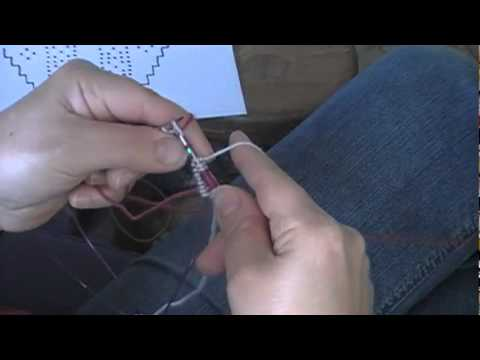 Two-Handed Stranded Knitting - YouTube
