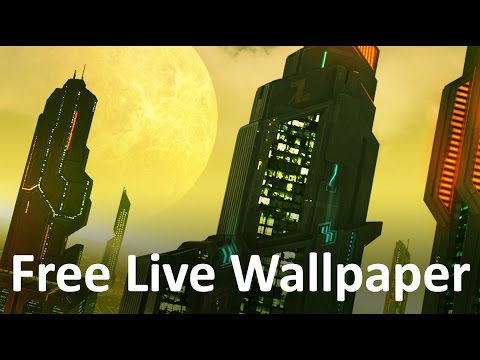 Space City _ live wallPaper for Android