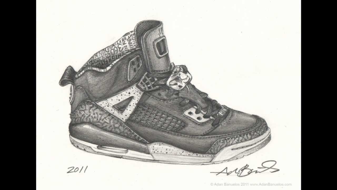 nike air jordan shoes drawings pencil 747579