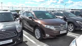Выбираем б\у Toyota Venza (бюджет 1.000-1.100тр)