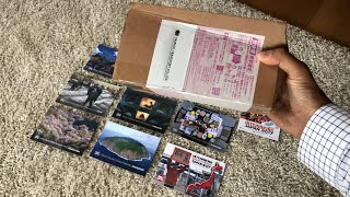 Japanese Postcard Unboxing | What's this month?