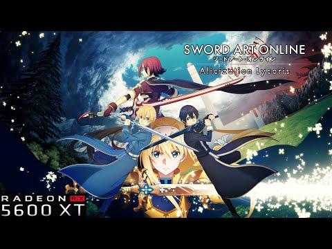 Sword Art Online: Alicization Lycoris 2020 RX5600XT GIGABYTE 6GB 1620MHZ  