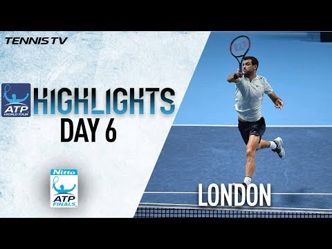 Highlights: Dimitrov Maintains Devastating Form At The O2 Nitto ATP Finals 2017 Round Robin