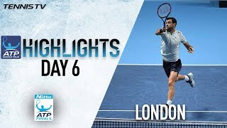Highlights: Dimitrov Maintains Devastating Form At The O2 Nitto ATP Finals 2017 Round Robin