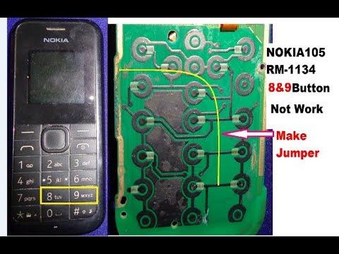 NOKIA105 (RM 1134) 8,9 Keypad Solution   YouTube