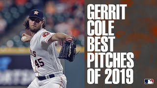 Gerrit Cole's Best Pitches of 2019 | MLB Highlights