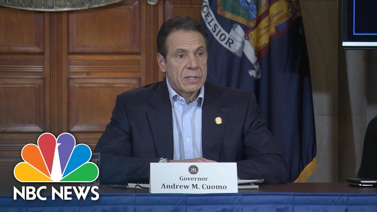 Cuomo declares state of emergency in New York as coronavirus ...