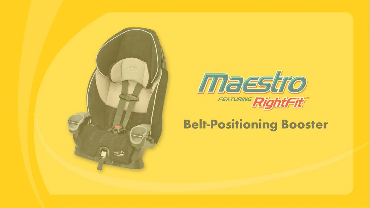 Car Seat Installation Maestro As A Belt Positioning Booster