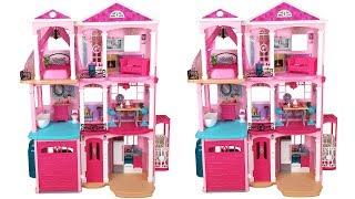 Barbie Dream House 2015 Unboxing Assembly دمية باربي البيت Casa de boneca Barbie