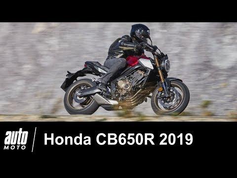 Honda CB650R 2019 ESSAI POV Auto-Moto.com