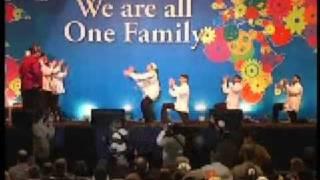 Кавказский танец на каббалистическом конгрессе 2009