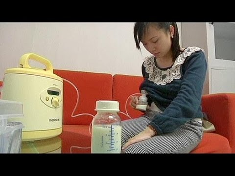 Chinese breast milk bank starts small