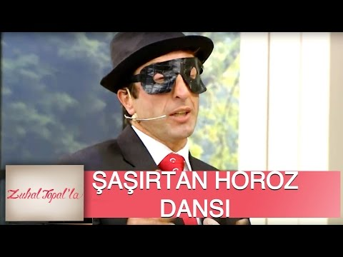 Zuhal Topal'la 55. Bölüm (HD) | Gülşen Hanım'ın Talibi Ahmet Bey'den Horoz Dansı