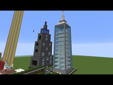 Gökdelen Yapıyoruz - Minecraft Modern Evler