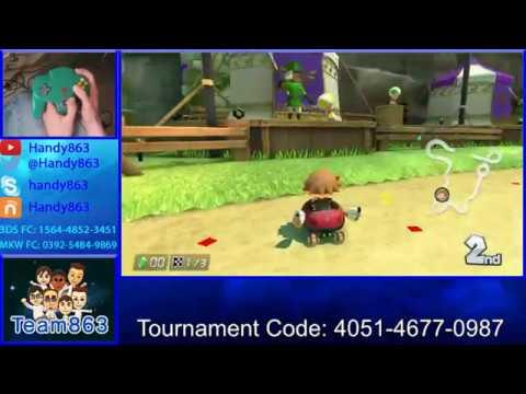 [TWITCH STREAM] AFFILIATE HYPE! Sub, Donation & Bit Alerts! - Mario Kart 8 w/ N64 Controller! #1