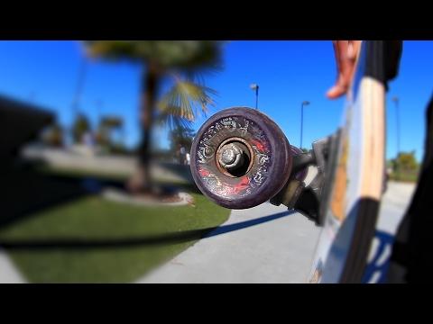 WORST BEARINGS AT THE PARK | SKATING THE BIG BOWL!