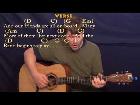 Yellow Submarine (Beatles) Fingerstyle Guitar Cover Lesson with ...